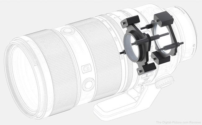 Sony FE 70-200mm F2.8 GM OSS II Lens Quad XD Linear Motors