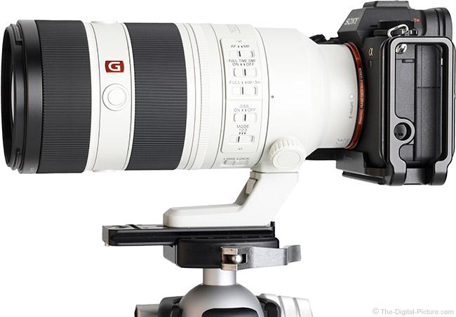 Sony FE 70-200mm F2.8 GM OSS II Lens Side View