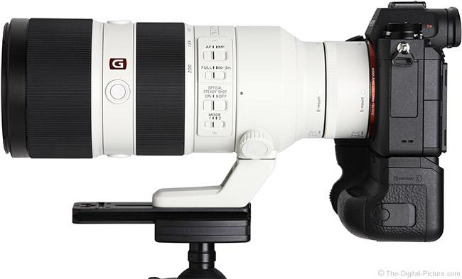 Sony FE 70-200mm f/2.8 GM OSS Lens Teleconverter Comparison