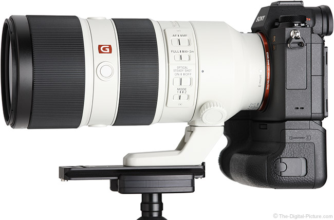 Sony FE 70-200mm f/2.8 GM OSS Lens Side View