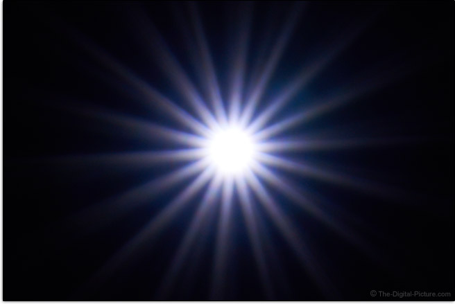 Sony FE 70-300mm f/4.5-5.6 G OSS Lens Sunstar Effect Example