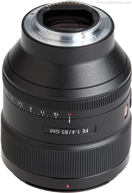 Sony FE 85mm f/1.4 GM Lens Mount