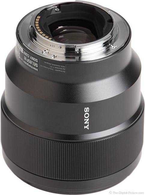 Sony FE 85mm f/1.8 Lens Mount