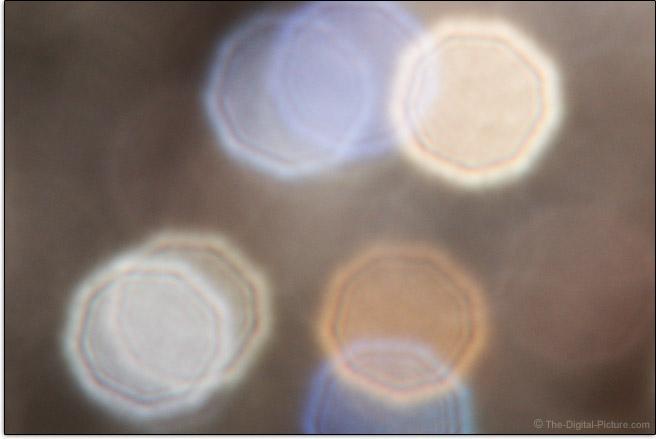 Sony FE 90mm f/2.8 Macro G OSS Lens Bokeh Example