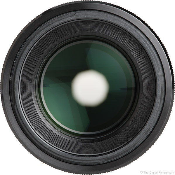 Sony FE 90mm f/2.8 Macro G OSS Lens Front View
