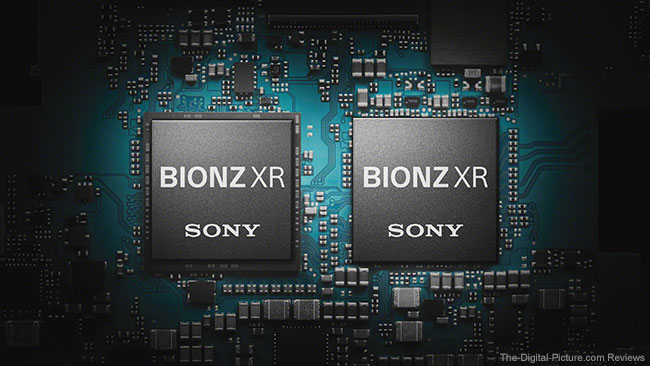 Sony a1 BIONZ XR Processors