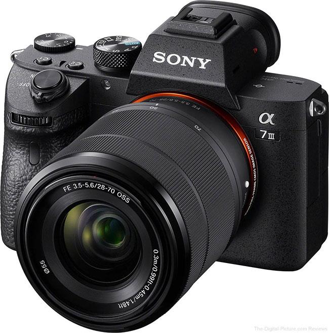 Sony a7 III Angle