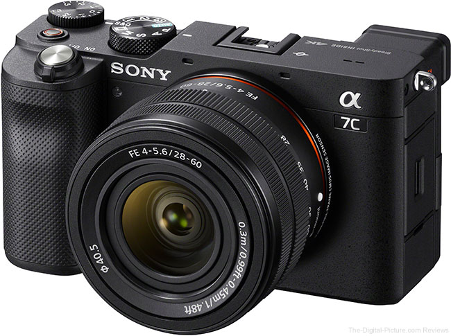 Sony a7C Angle