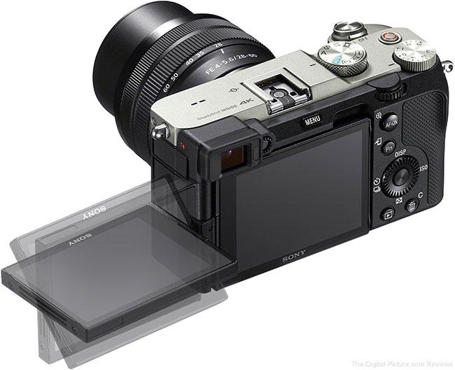 Sony a7C LCD Open Back
