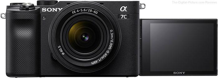 Sony a7C LCD Open