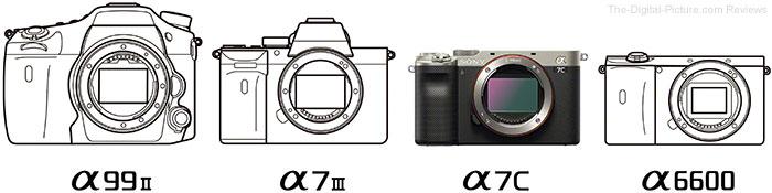 Sony a7C Size Comparison