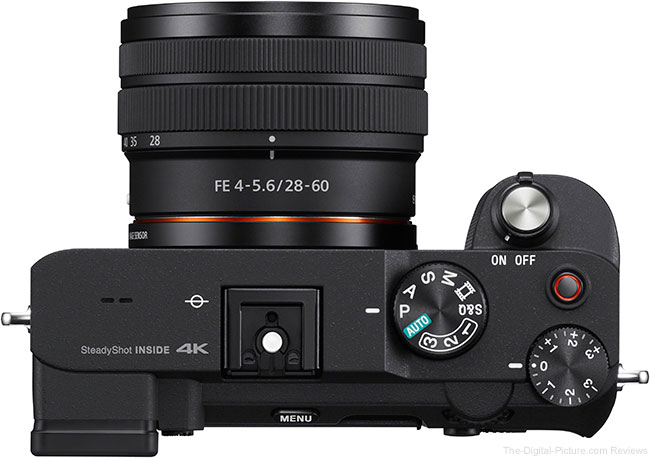 Sony a7C Top