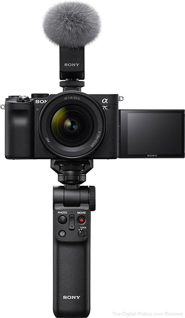 Sony a7C with Mic