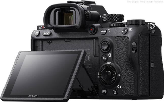 Sony a7R III LCD Open