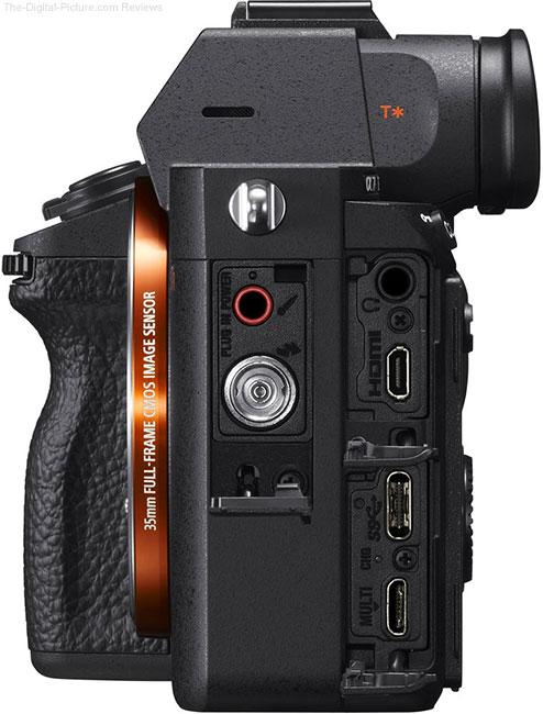 Sony a7R III Ports
