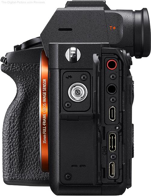Sony a7R IV Ports