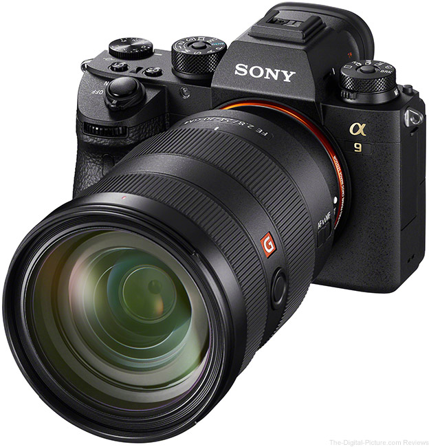 Sony a9 with 24-70mm Lens Angle