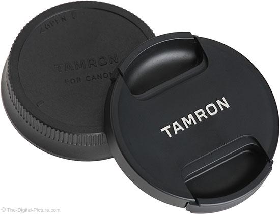 Tamron 100-400mm f/4.5-6.3 Di VC USD Lens Cap