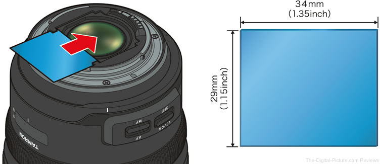 Tamron 15-30mm f/2.8 Di VC USD G2 Lens Drop-In Filter Holder