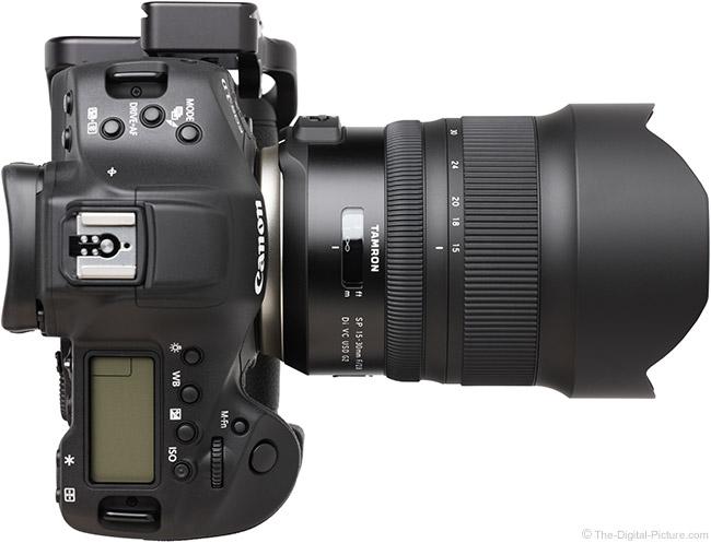 Tamron 15-30mm f/2.8 Di VC USD G2 Lens Top View