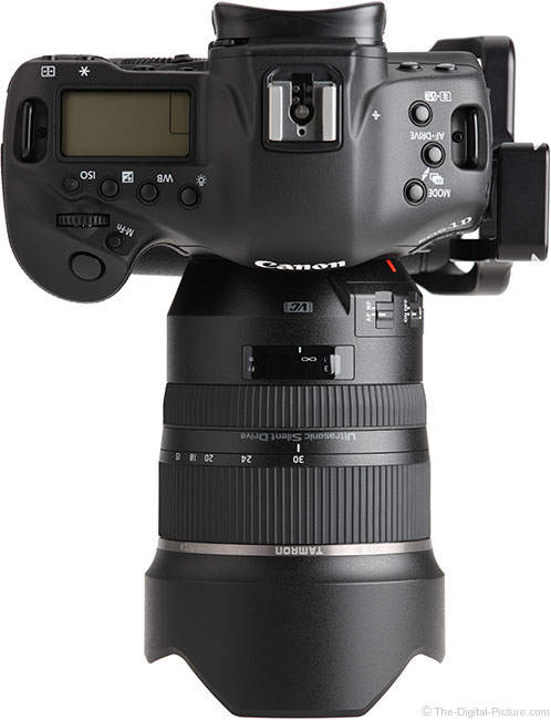 Tamron 15-30mm f/2.8 VC Lens Top View