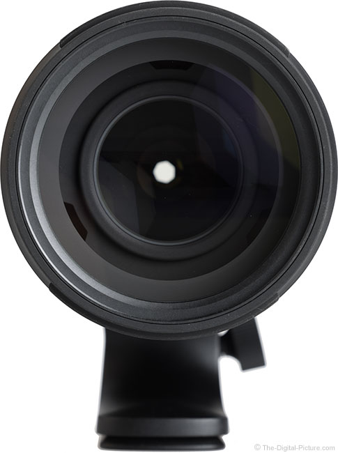Tamron 150-500mm f/5-6.7 Di III VC VXD Lens Front View