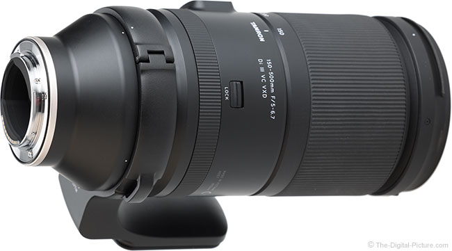 Tamron 150-500mm f/5-6.7 Di III VC VXD Lens Mount