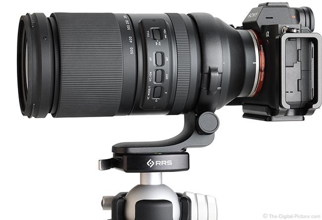 Tamron 150-500mm f/5-6.7 Di III VC VXD Lens Side View