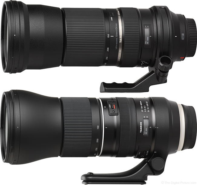 Tamron 150-600mm f/5-6.3 Di VC USD G2 Lens Compared To Original