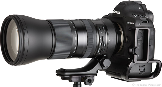 Tamron 150-600mm f/5-6.3 Di VC USD G2 Lens Front Angle View