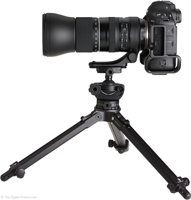 Tamron 150-600mm f/5-6.3 Di VC USD G2 Lens on Tripod