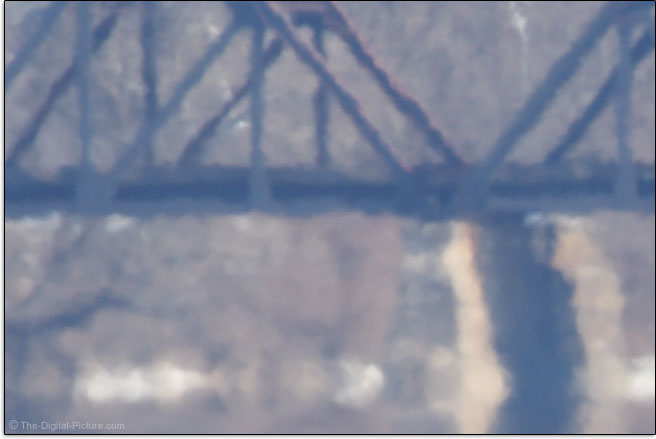 Heat Waves on Railroad Bridge