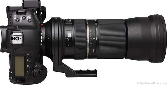 Tamron 150-600mm VC USD Lens Firmware Update Improves AF Performance on Canon DSLRs