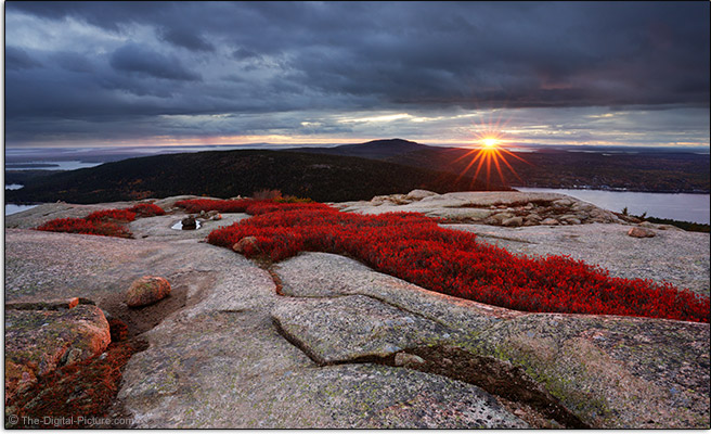 Tamron 17-28mm f/2.8 Di III RXD Lens Acadia National Park Sample Picture