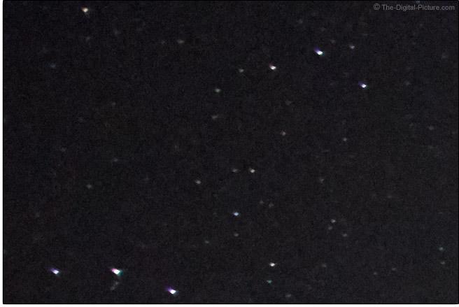Tamron 17-28mm f/2.8 Di III RXD Lens Coma Example