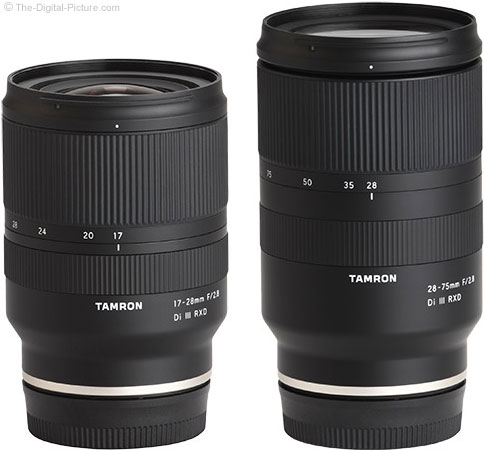 Tamron 17-28mm Compared to 28-75mm f/2.8 Di III RXD Lens