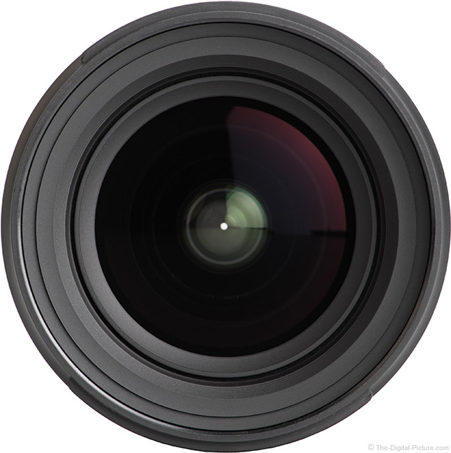 Tamron 17-28mm f/2.8 Di III RXD Lens Front View