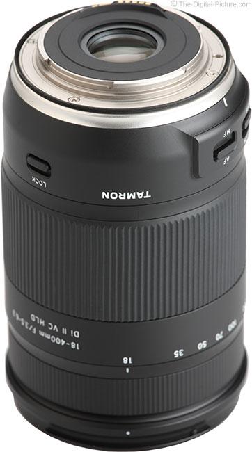 Tamron 18-400mm f/3.5-6.3 Di II VC HLD Lens Mount