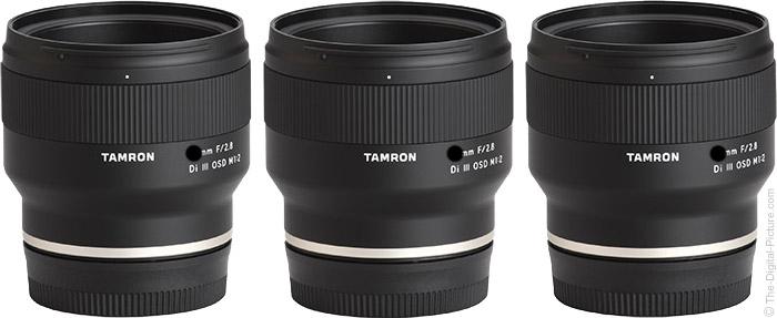 Tamron Wide Angle f/2.8 Di III OSD M1:2 Prime Lenses