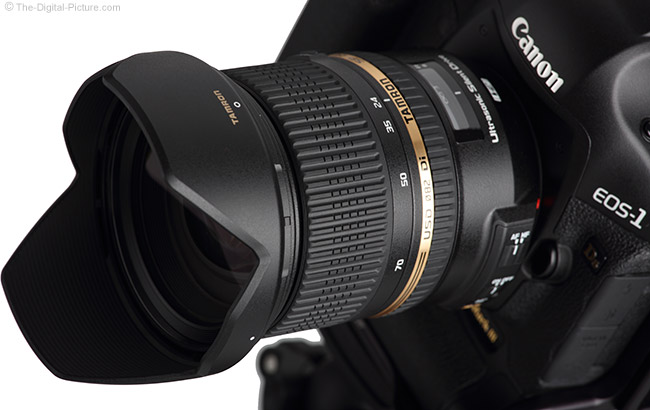 Tamron 24-70mm VC USD Lens on Canon 1Ds Mark III Close-UP