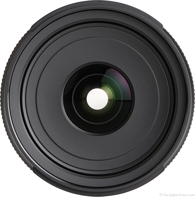 Tamron 24mm f/2.8 Di III OSD M1:2 Lens Front View