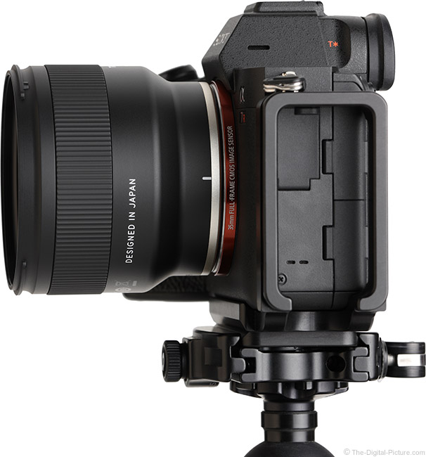 Tamron 24mm f/2.8 Di III OSD M1:2 Lens Side View