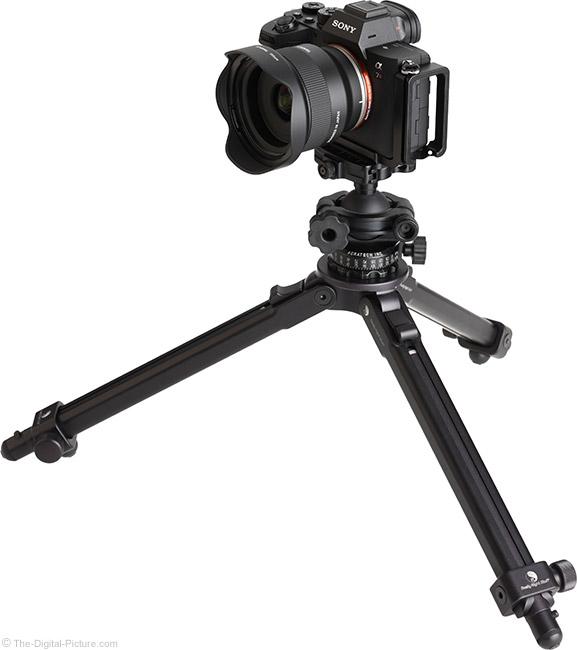 Tamron 24mm f/2.8 Di III OSD M1:2 Lens on Tripod