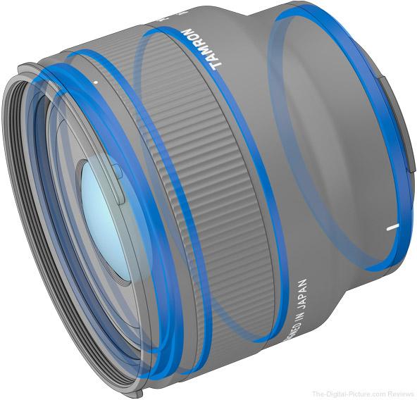 Tamron 24mm f/2.8 Di III OSD M1:2 Lens Weather Sealing