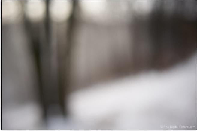 Tamron 28-200mm f/2.8-5.6 Di III RXD Lens Maximum Blur Example