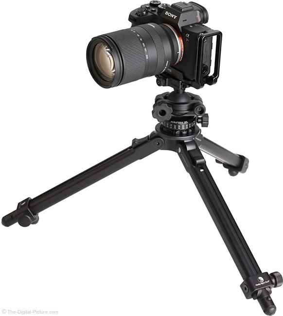 Tamron 28-200mm f/2.8-5.6 Di III RXD Lens on Tripod