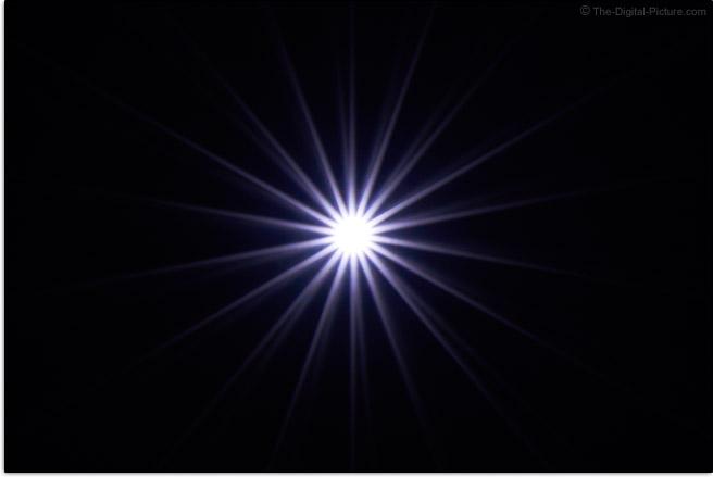 Tamron 28-75mm f/2.8 Di III RXD Lens Starburst Effect Example