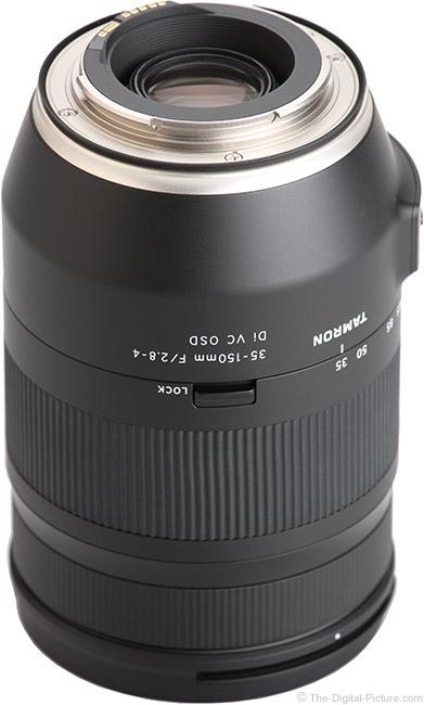 Tamron 35-150mm f/2.8-4 Di VC OSD Lens Mount