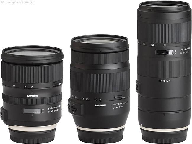 Tamron Zoom Lens Comparison