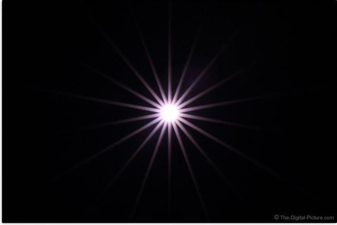 Tamron 35mm f/1.4 Di USD Lens Starburst Effect Example